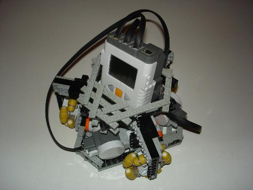 Lego Omni Robocup Robot using Holonomic Wheels